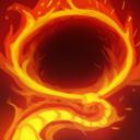Batrider flaming lasso lg