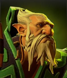 Lone druid vert