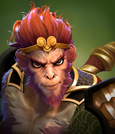 Monkey king vert