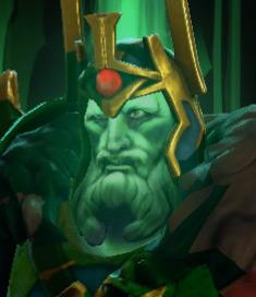 Skeleton king vert
